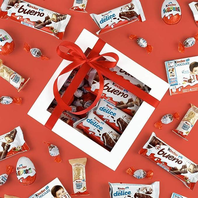 """Caja Regalo """"Kinder"""" - Kinder Bueno Kinder Delice Kinder Chocolate ..."""