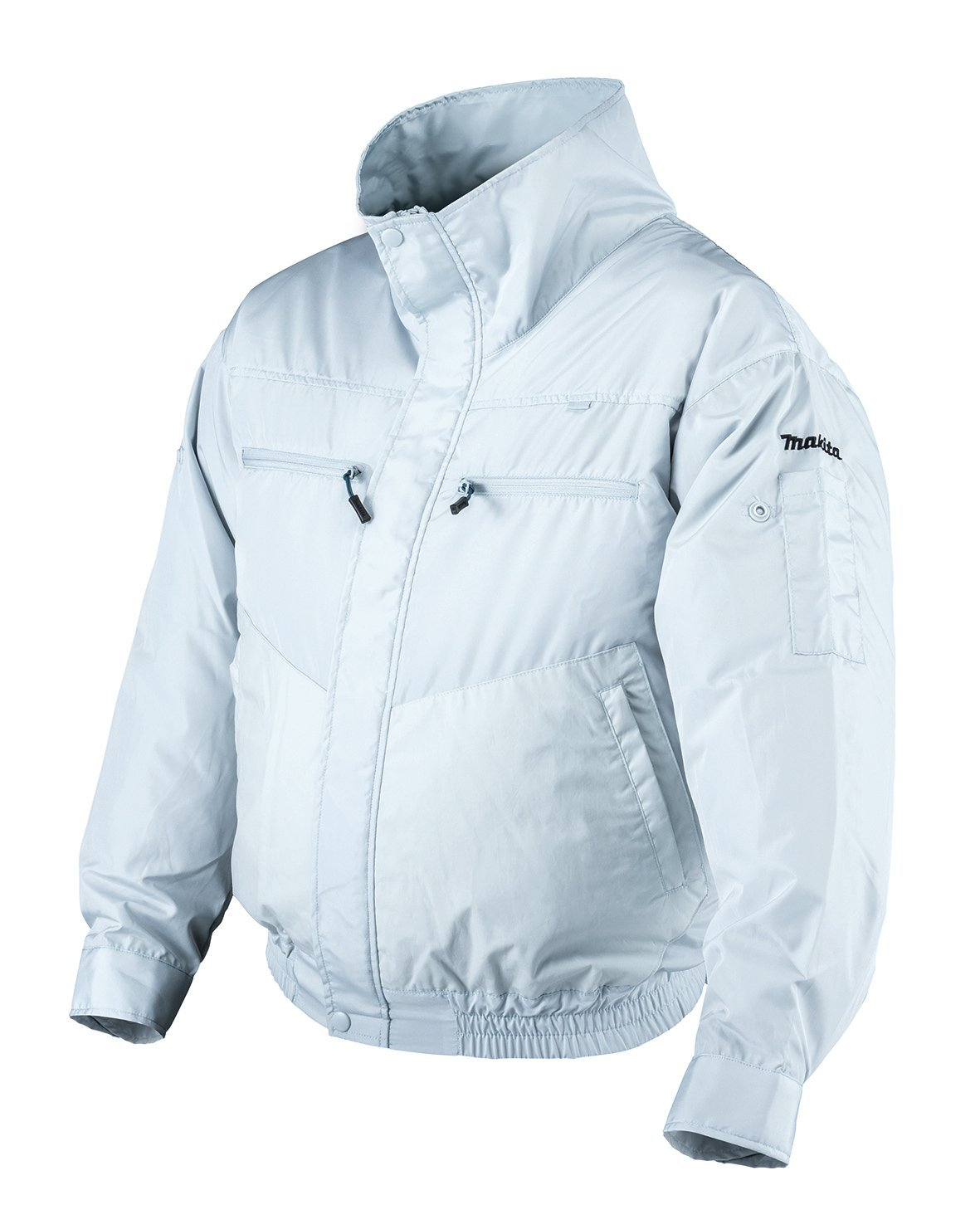 DEWBU 空調服 作業服 夏用 空調風神服 長袖 熱中症対策 エアークラフト ブルゾン ファン付 節電 B07BGXVBS3 XXX-Large|カモフラージュ