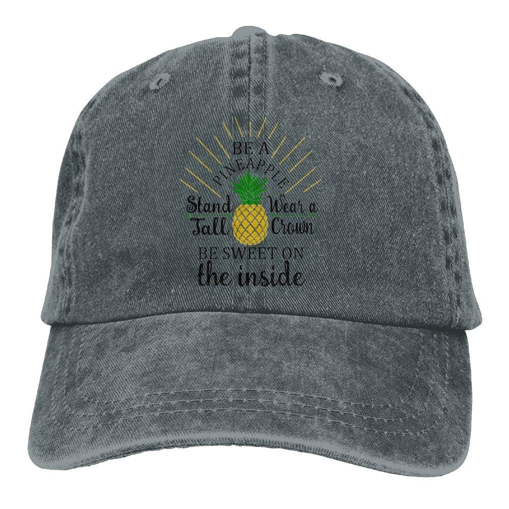 GqutiyulU Be A Pineapple Adult Cowboy Hat Asphalt