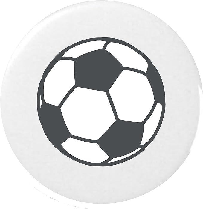 balón de fútbol Emoji 25mm Botón / Soccer Ball Emoji 25mm Button ...