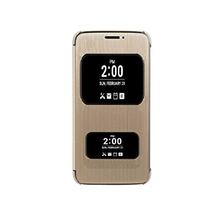 brand new 84b9a dd0fe Azzil Flip Cover For Lg Q6 Plus - Gold: Amazon.in: Electronics