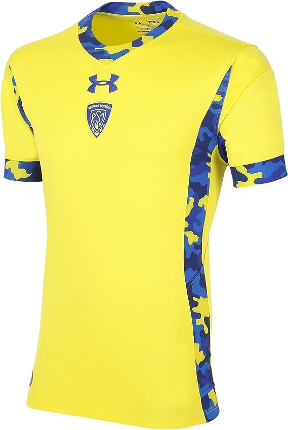 Under Armour Camiseta de rugby ASM Clermont Auvergne (2015/16), color amarillo, color Amarillo - amarillo, tamaño medium: Amazon.es: Deportes y aire libre