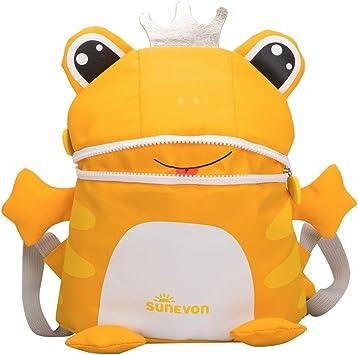 ❤️ Sunbona Schoolbag Child Baby Girl/&Boy Kids Cartoon Frog Fox Animal Backpack Toddler School BagShoulder School Bag