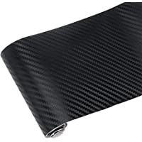 iTimo 10x127cm Carbon Fiber Vinyl Film Car Stickers Waterproof Car Styling Wrap For Auto Vehicle Motorcycle Detailing Car Accessories