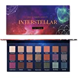 Prism Makeup 21 Colors Pigmented Eyeshadow Palette 6 Matte + 15 Shimmer Blendable Long Lasting Eye Shadow Palette…