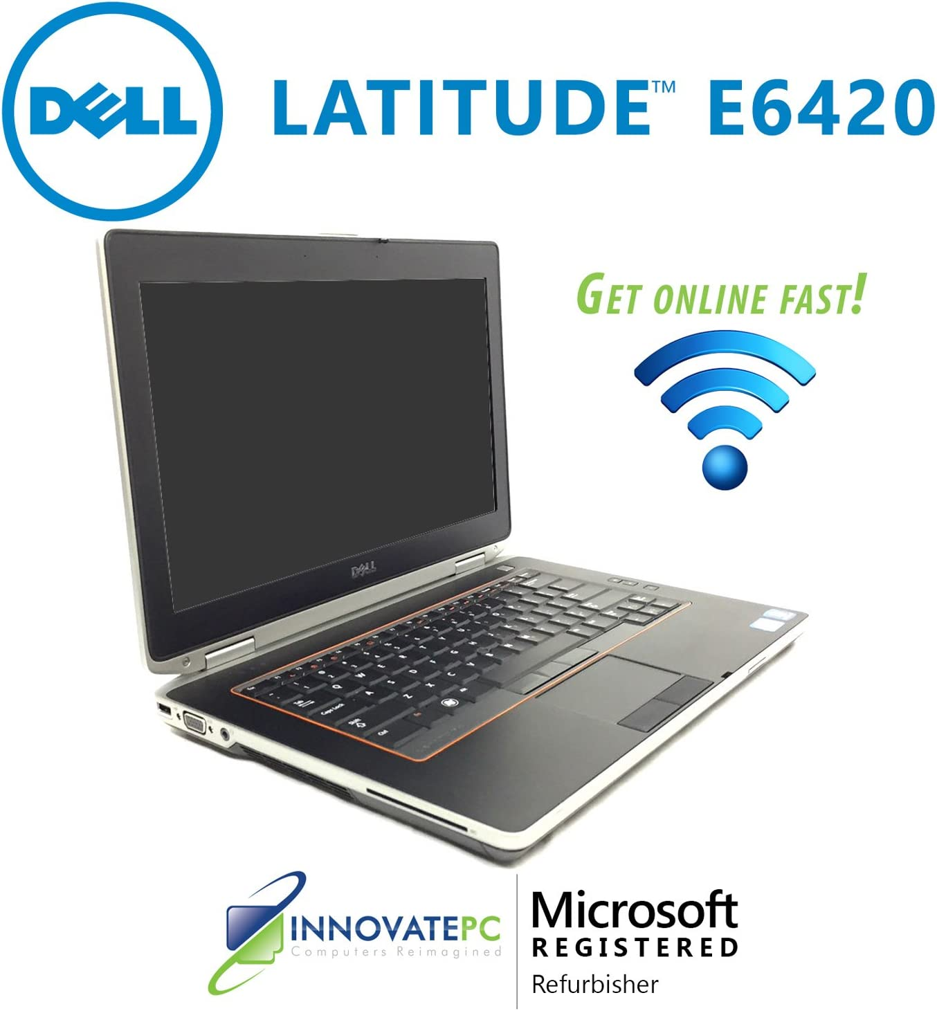 "Dell Latitude E6420 Core i5-2520M 2.5GHz 4GB 250GB DVD±RW NVIDIA Optimus 14"" LED Laptop Windows 7 Professional w/6-Cell Battery"