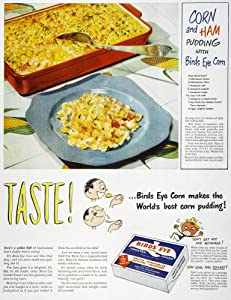 Frozen Food Ad 1947 NTaste Advertisement For Birds Eye Frosted Foods From An American Magazine Poster Print by (24 x 36)