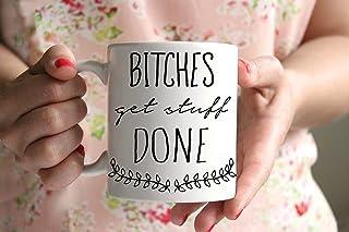 Cagne lavorare Funny tazze per donne per il lavoro