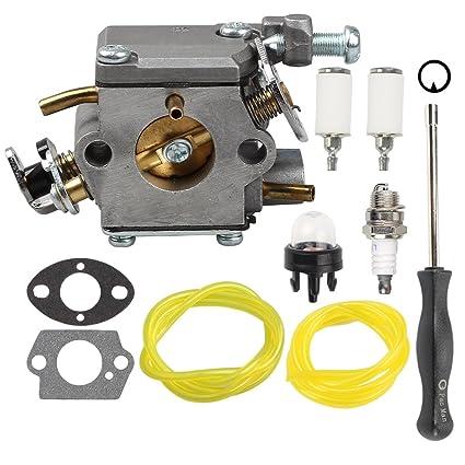 Hilom Carburetor for 309362001 309362003 Homelite Chainsaw UT10540 UT10542  UT10544 UT10546 UT10548 UT10560 UT10566 UT10568 UT10580 UT10582 UT10584