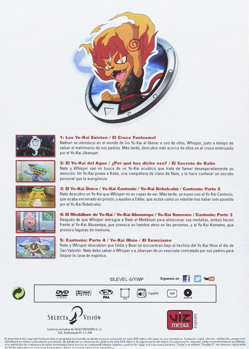 Amazon.com: Yokai Watch Temporada 1 - Parte 1. Episodios 1 A 13 [Non-usa Format: Pal -Import- Spain ]: Movies & TV