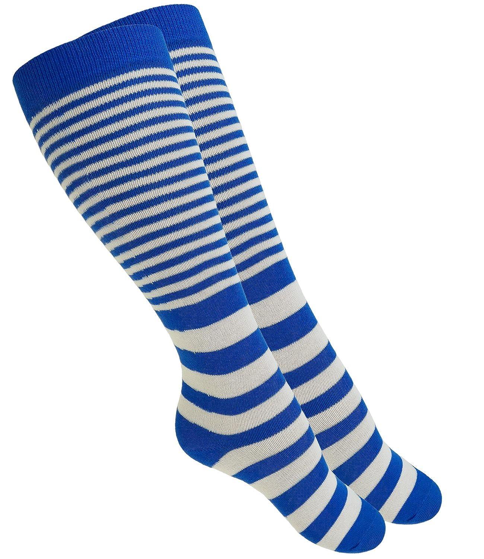 EveryKid Ewers 1er, 2er oder 3er Pack Jungenkniestrümpfe Kniestrümpfe Strümpfe Sommersocken Markensocken Socken gestreift Ringel für Kinder (EW-601033-S18-JU2) inkl Fashionguide