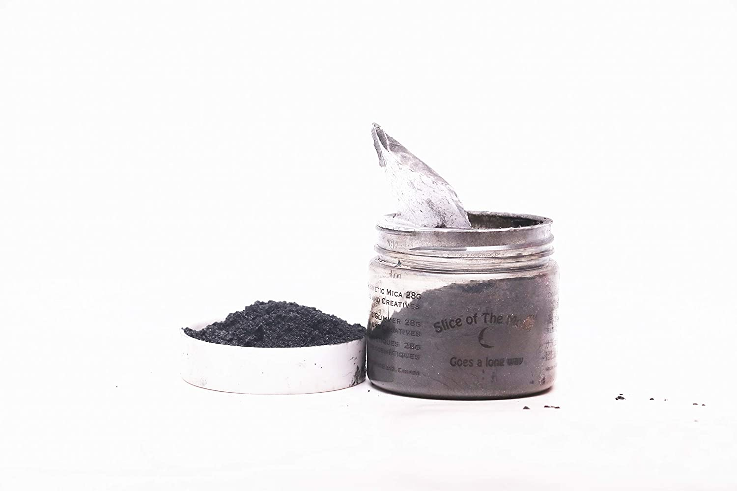 Slice Of The Moon Black Mica Powder Cosmetic, 15g EKS Entertainment Group