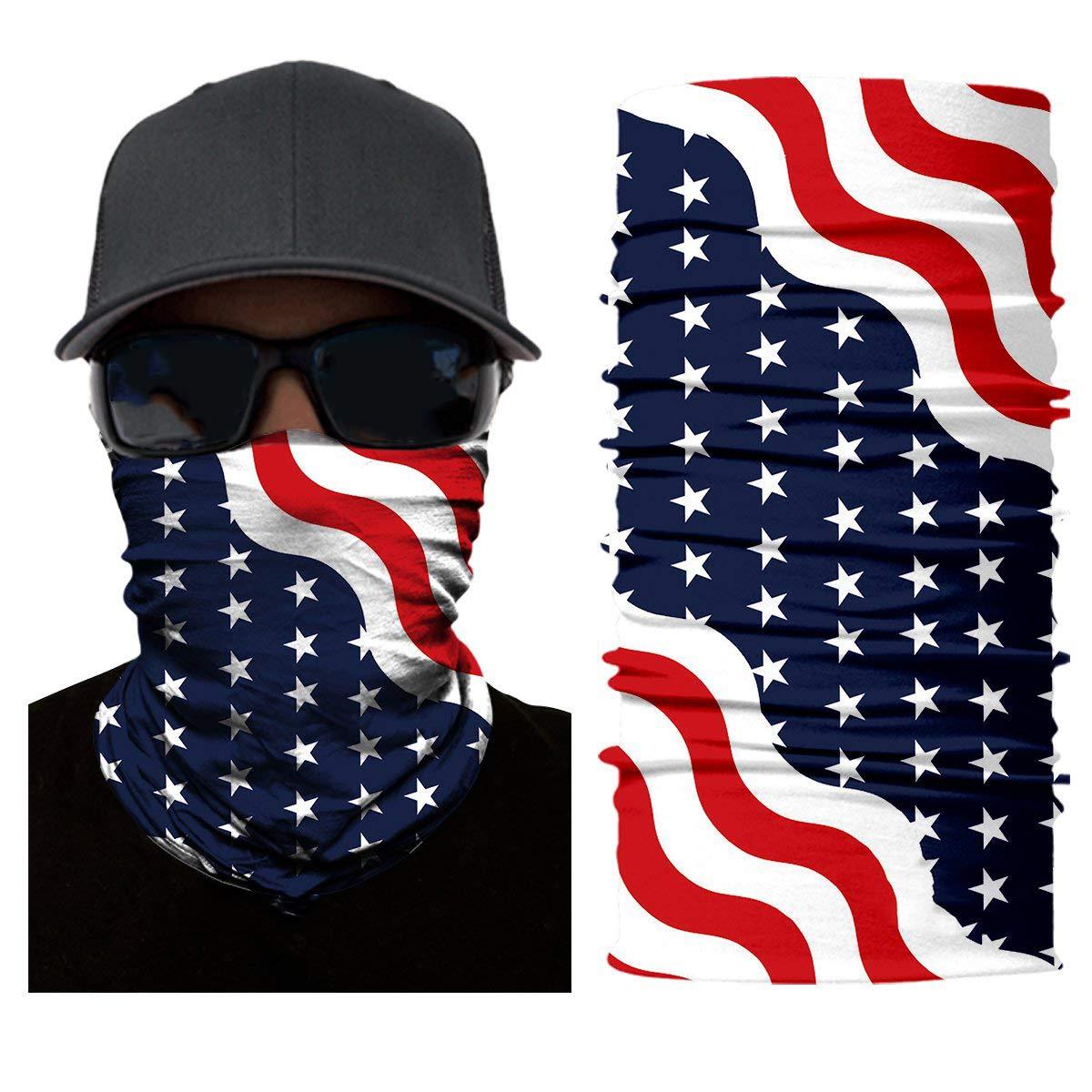Fishing Fast Drying /& Lightweight for Running PTYHR Neck Gaiter//Headband//Multipurpose Face Mask//Bandana Head Wrap Unique Headbands Hiking