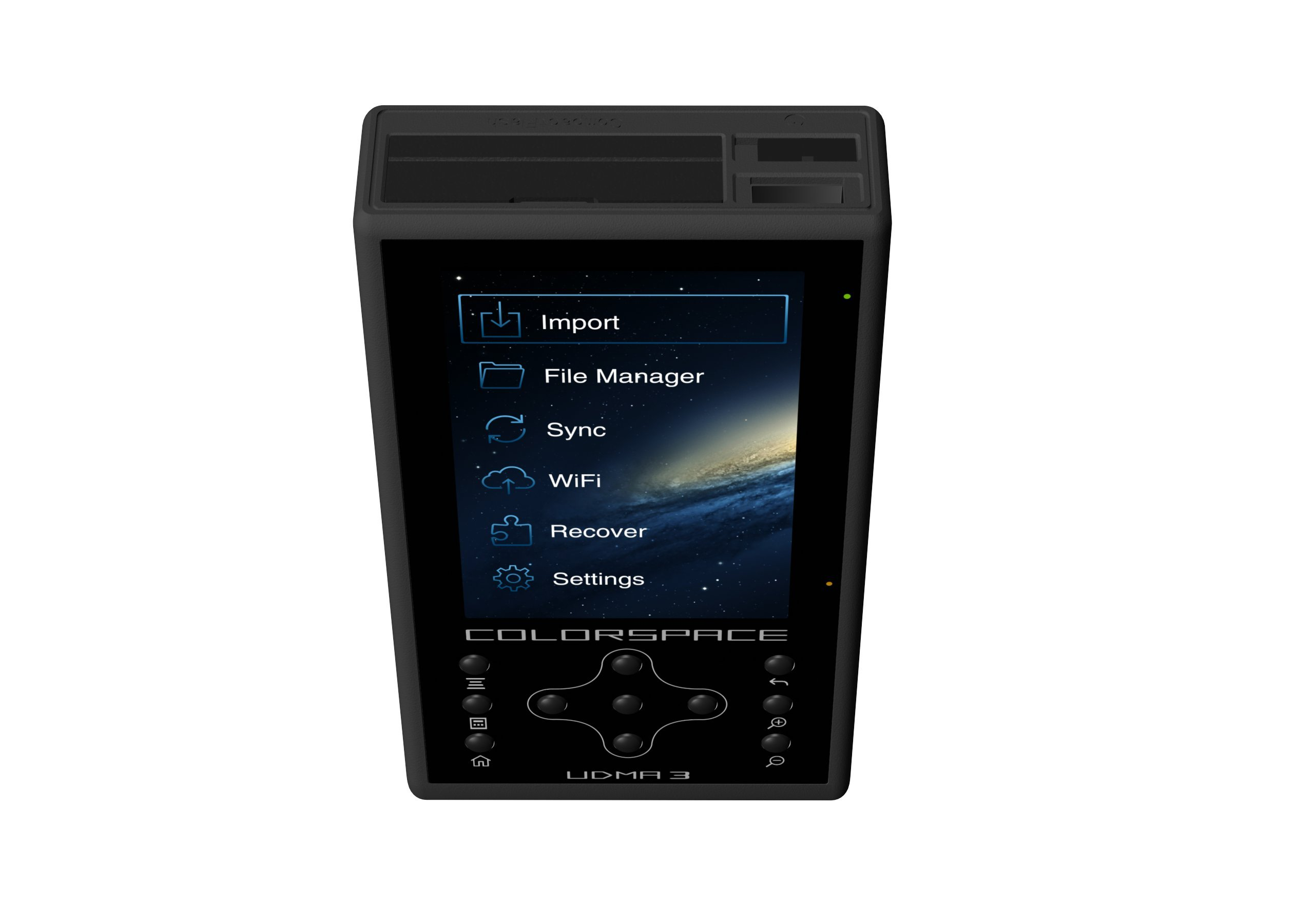 HyperDrive Colorspace UDMA3 500GB Portable Storage and Backup Device with Wi-Fi by HyperDrive (Image #2)
