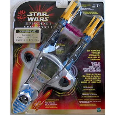 Star Wars Episode 1 Electronic Hand Held Podracer Game (1999): Toys & Games