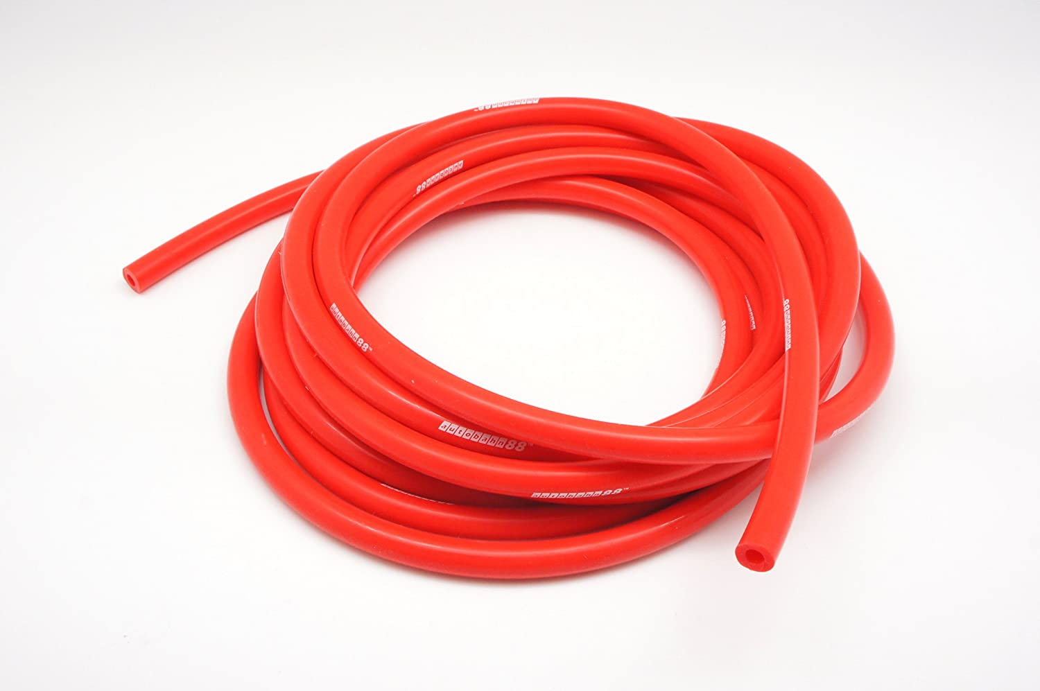 Autobahn88 Engine Room Silicone Vacuum Hose Dress Up DIY Kit Fit All Models of Fiat Red