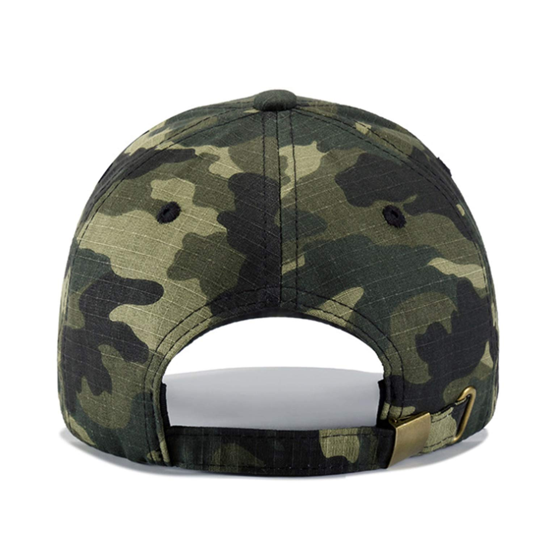 Zipok Army Tactical Camouflage Baseball Cap for Men Women Green Camouflage Cap Hat Men Sport Hat