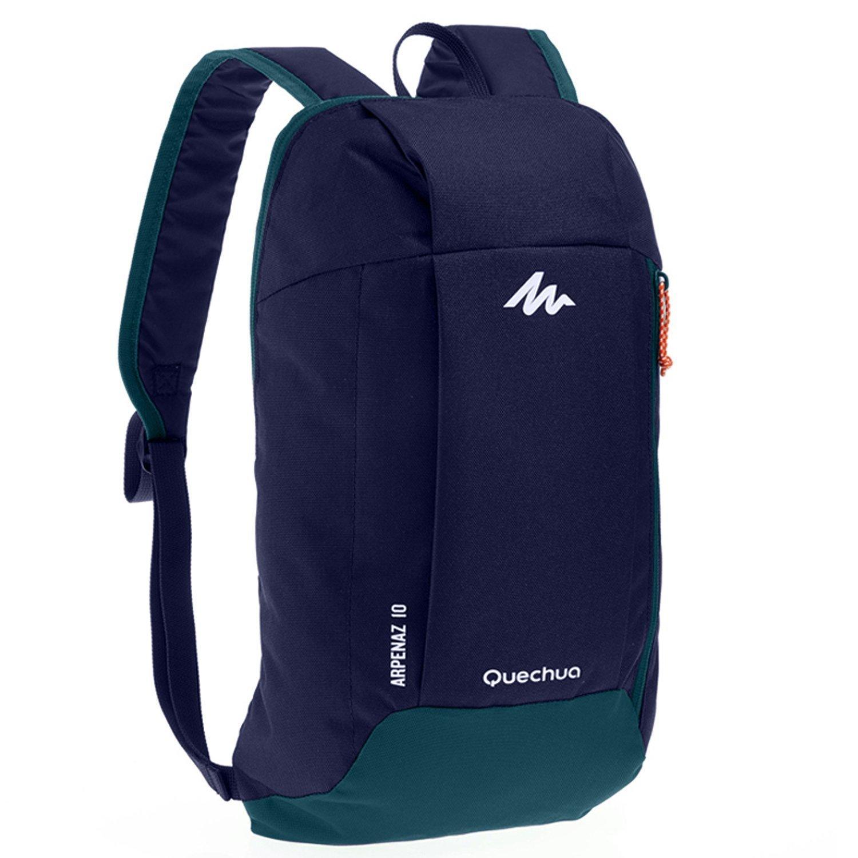 Quechua Nylon 10 Liters Navy Blue Multipurpose Backpack