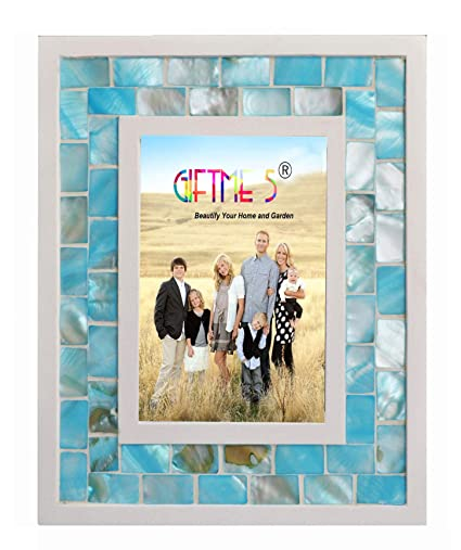 Amazon Giftme 5 Picture Frame 4x6 Mother Of Pearl Photo Frame 4