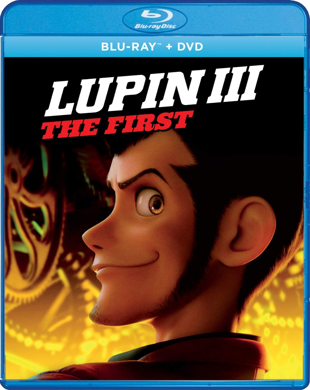Lupin III: The First Blu-ray/DVD combo pack.
