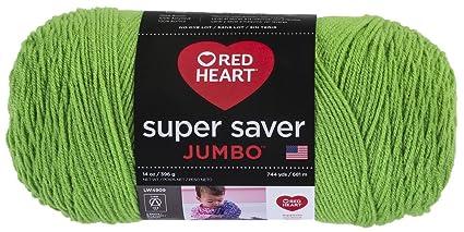 Coats Yarn E302C-672 Red Heart Super Saver Yarn-Spring Green