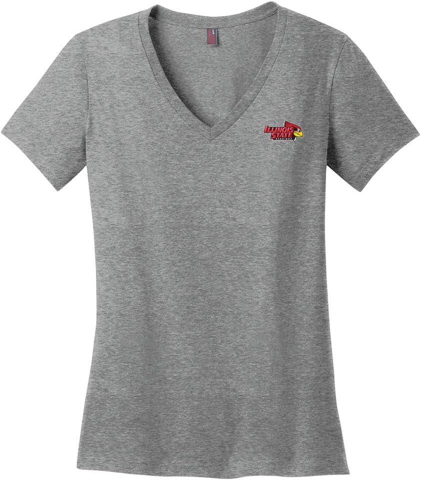 Campus Merchandise NCAA Womens Ladies V-Neck Tee