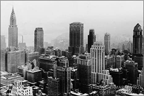 Amazon Com 20x30 Poster New York City 1932 Midtown Manhattan New