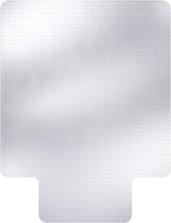 글라이드 오른쪽 비닐 의자 매트 립 46X60 클리어 낮은 더미 카펫 바닥