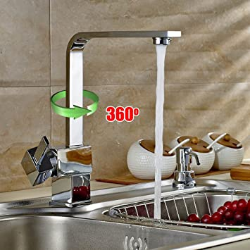 Taps Kitchen Sinks Auralum modern taps mixer kitchen sink taps swivel spout taps auralum modern taps mixer kitchen sink taps swivel spout taps luxury chrome faucets with brass faucet body and ceramic cartridgehot and cold water workwithnaturefo