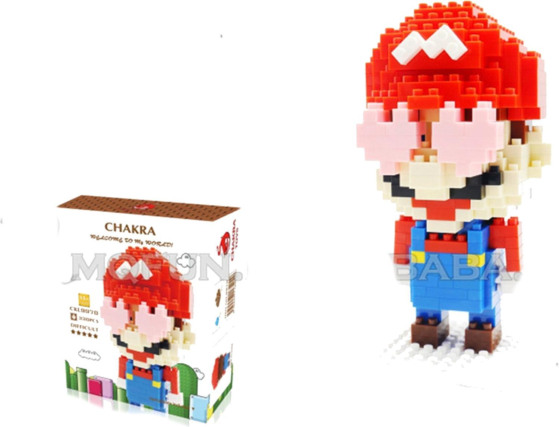 428 CHAKRA Game Super Mario Goomba DIY Diamond Mini Building Nano Block Toy