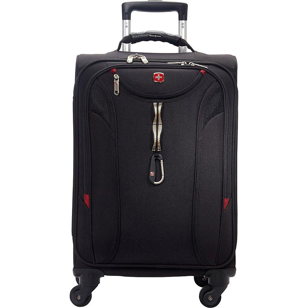 SwissGear Travel Gear 1900 Spinner Carry-On Luggage (Black)