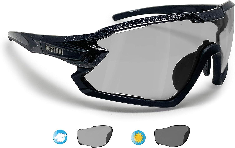 BERTONI Gafas Ciclismo Running MTB Esquí Tennis Padel Polaridas ...