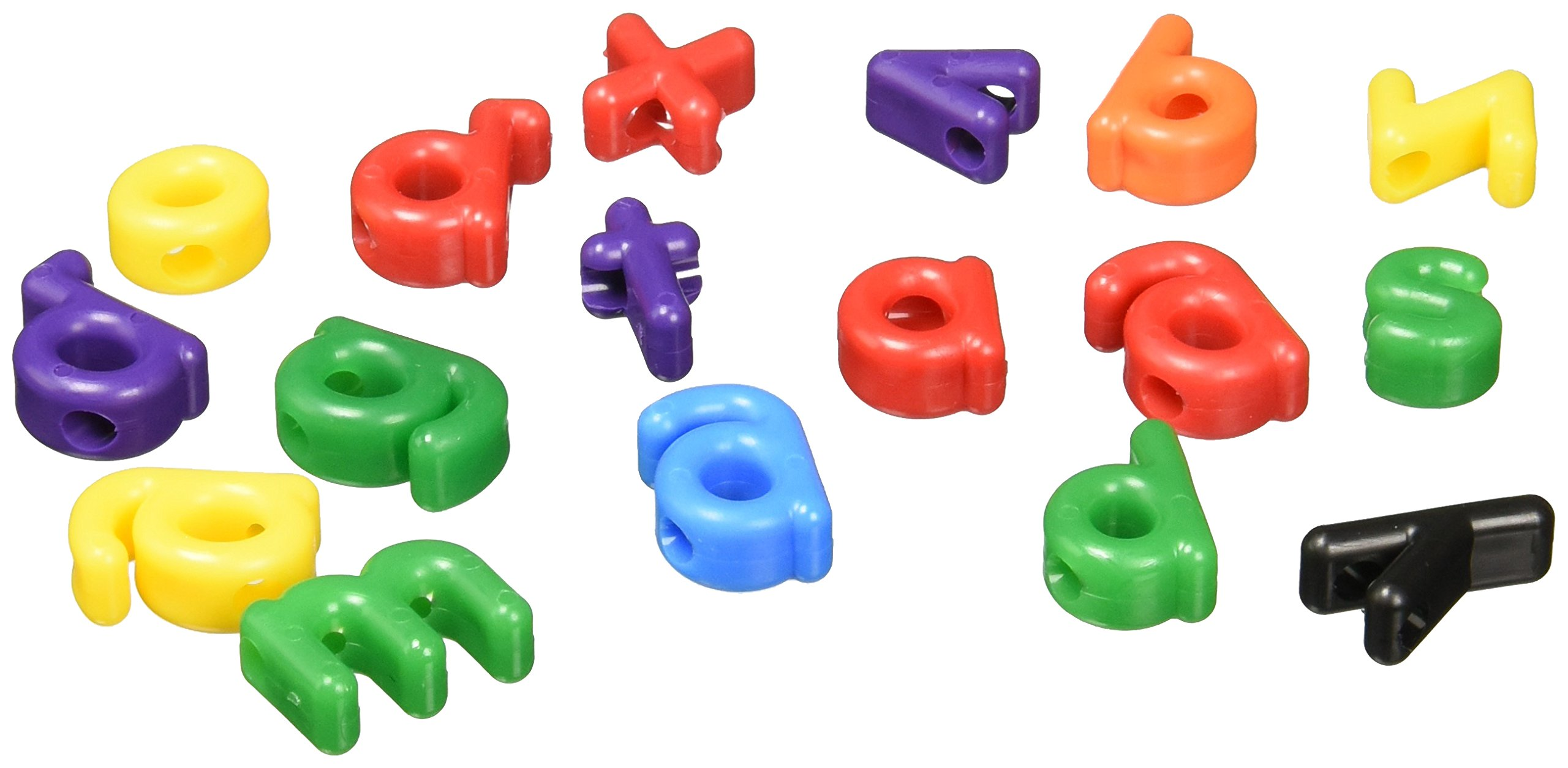 Roylco Lowercase Letter Bead, Assorted Colors, Pack of 288 by Roylco