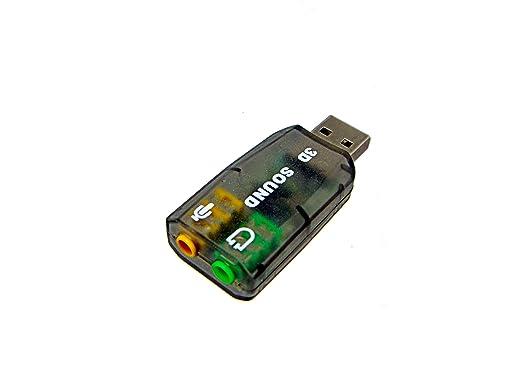 Amazon.com: Tarjeta de sonido USB adaptador: Computers ...