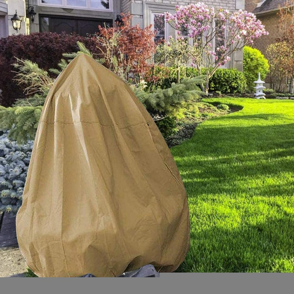 cineman Fountain Cover Waterproof Breathable Oxford Fabric Fountain Water Protection Cover For Outdoor Garden Patio Water Feature Cover With Drawstring