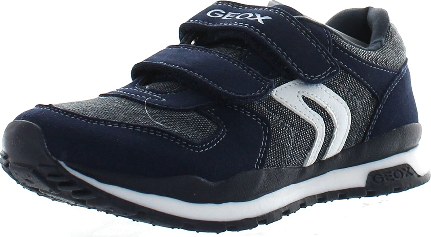Geox Boys J Pavel Boy Fashion Sneakers,Navy,26