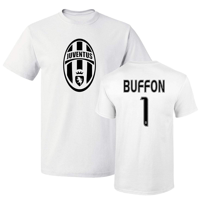 new concept ce3cc 0e55d Tcamp Juventus Shirt Gianluigi Buffon #1 Jersey Men T-shirt ...