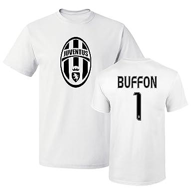 fc6b57898 Tcamp Juventus Shirt Gianluigi Buffon  1 Jersey Men T-shirt