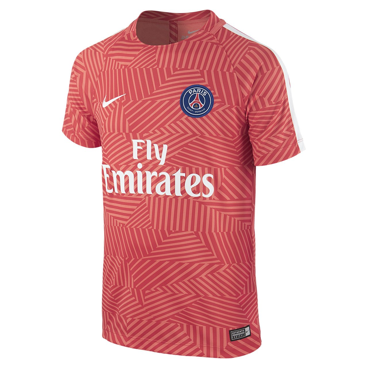Psg black and pink jersey - Amazon Com 2016 2017 Psg Nike Pre Match Training Shirt Ember Glow Kids Sports Outdoors