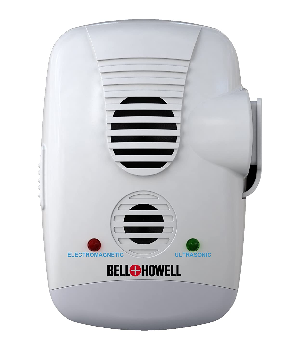 Bell + Howell Ultrasonic Electromagnetic Pest Repeller with AC Outlet and Switch