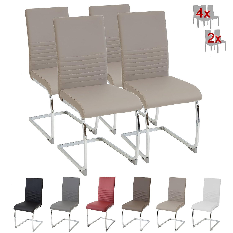Albatros silla cantilever BURANO Set de sillas Beige SGS probado