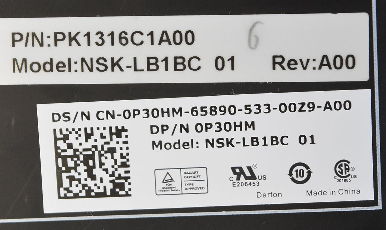 Amazon.com: GENUINE Dell Alienware 15 R2 ORIGINAL KEYBOARD P30HM PK1316C1A00: Industrial & Scientific