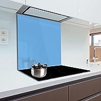 Pannello para-schizzi in vetro temperato resistente al calore per proteggere la parete dei fornelli in cucina