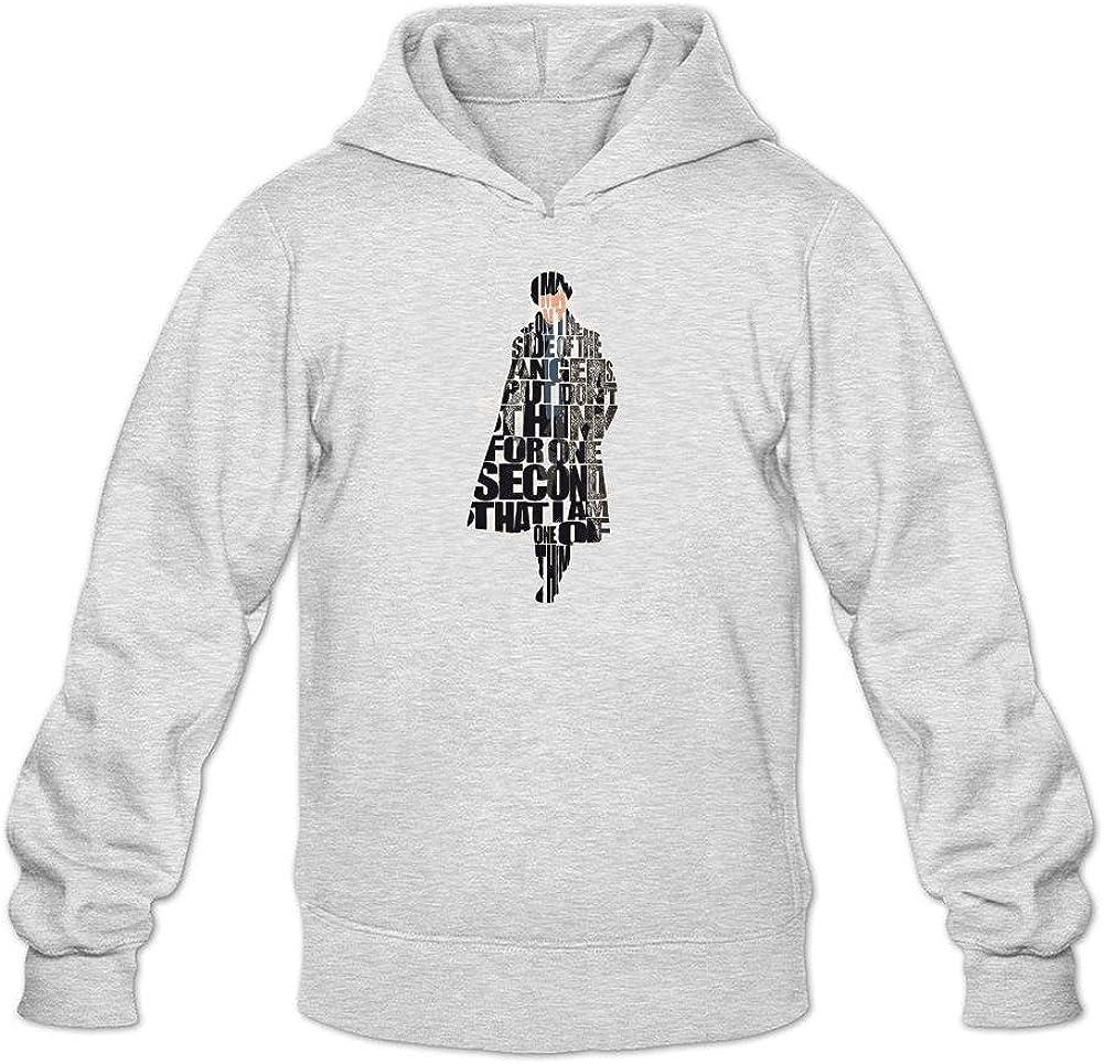 Men's Sherlock Holmes 1 Hoodie Sweatshirt