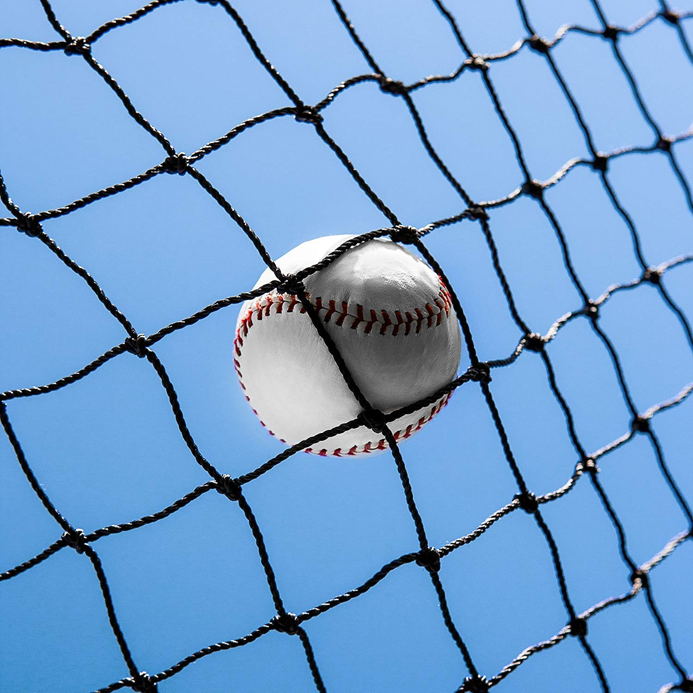 Baseball Batting Cages 42 Heavy Duty Net [Net World] 24hr Ship (12' x 14' x 70') by Net World Sports