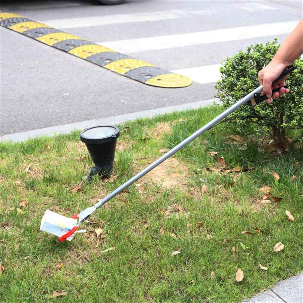 WLIXZ Reacher Grabber, Arm Extension, Mobility Aid Reaching Assist Tool, Long Handled Trash Litter Picker, 2 Pack,120cm by WLIXZ (Image #3)