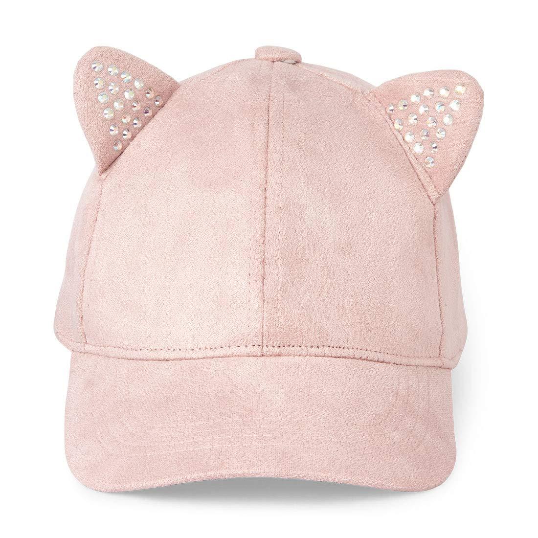 The Children's Place Girls' Big Fashion Baseball CAPS, Soft Rose, L/XL(8+YR)