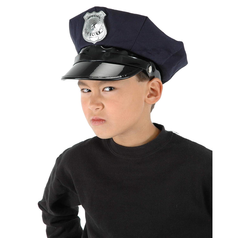 EL CARNAVAL Sombrero o Gorra policia Infantil: Amazon.es ...