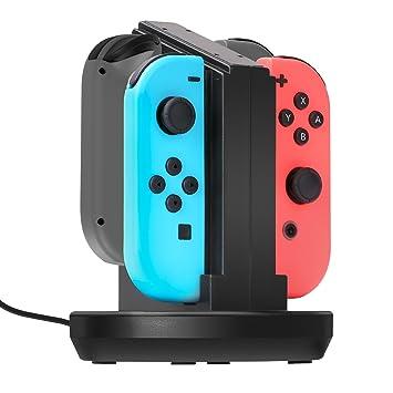 MoKo Compatible con Nintendo Switch Joy-con Soporte Cargador ...