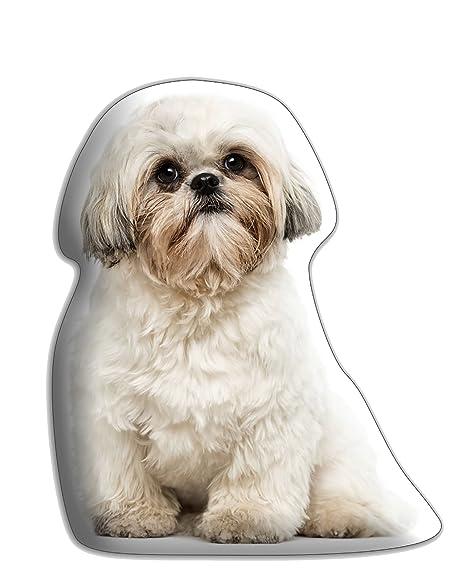 Shih Tzu perro regalo - hermoso grande Cuddle cojín - lujo ...